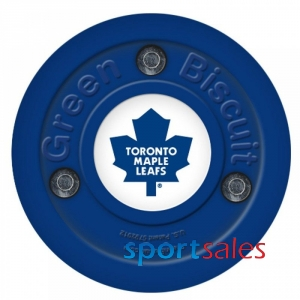 Puck GREEN BISCIUT NHL Toronto Maple Leafs