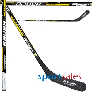 "YTH. Prodigy 38"" 25 flex. Yellow Hockey Sticks"