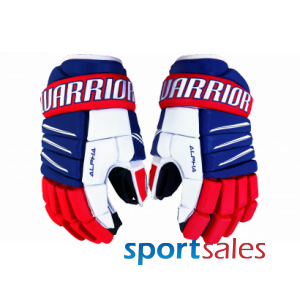 JR. Alpha QX PRO Warrior Hockey Gloves