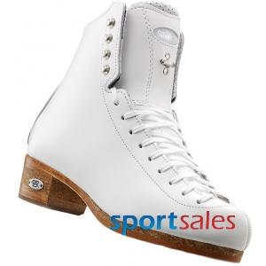 Riedell 875 Silver Star Boot 6 1/2B White