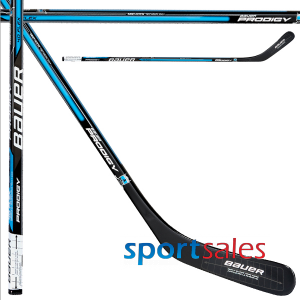 "YTH. Prodigy 50"" 40 flex. Blue Bauer Hockey Stick"