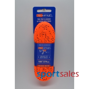 Laces Tex*Style No Wax Pro Line Orange